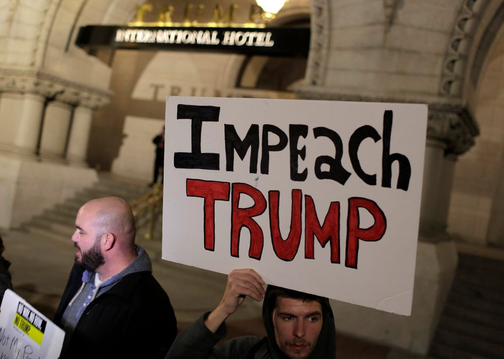 In second day of anti-Trump protests, civil rights a top concern