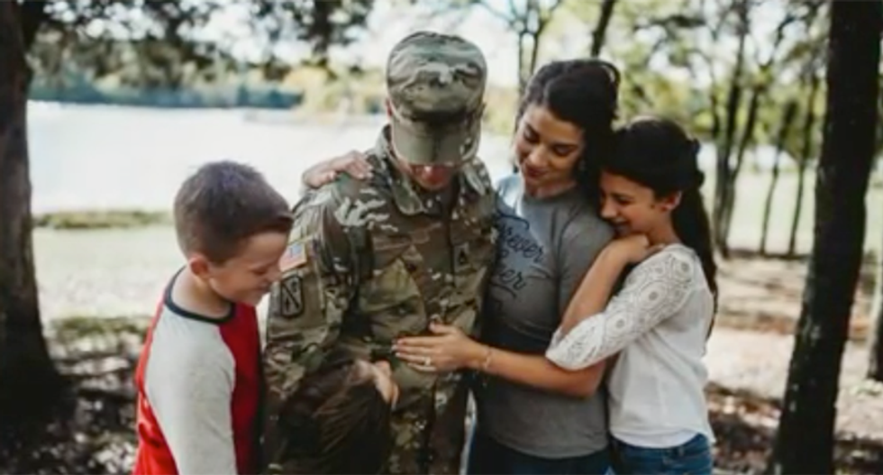 Oklahoma soldier could lose custody of his son while deployed overseas
