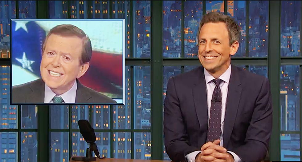 Seth Meyers hilariously taunts Fox anchors as they struggle to pronounce names of cities where caravan is walking