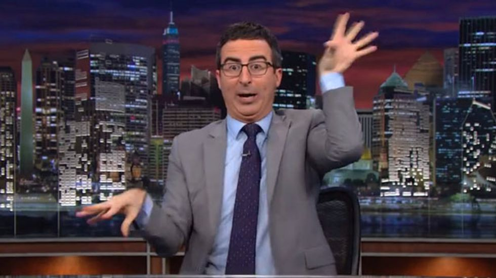 John Oliver: Fireworks are like 'sparkly guns you can shoot in the sky'