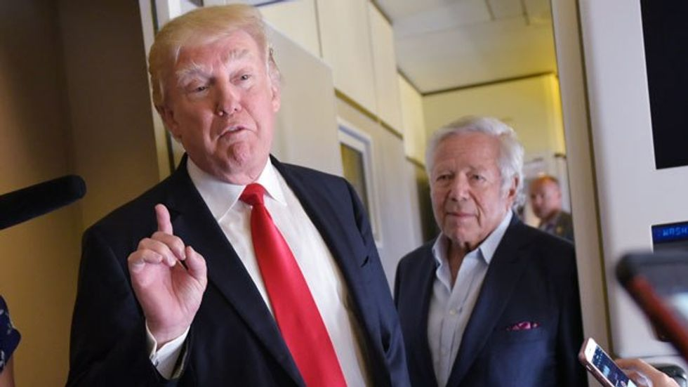 Trump-loving Patriots owner Robert Kraft charged for prostitution in Florida: report