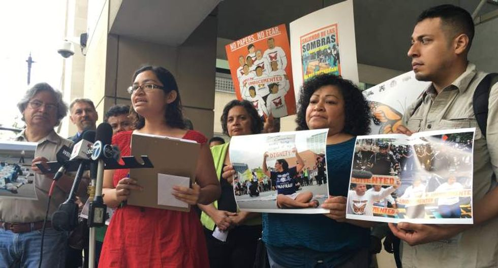 Chicago immigrant says feds denied her deportation reprieve to punish her activism