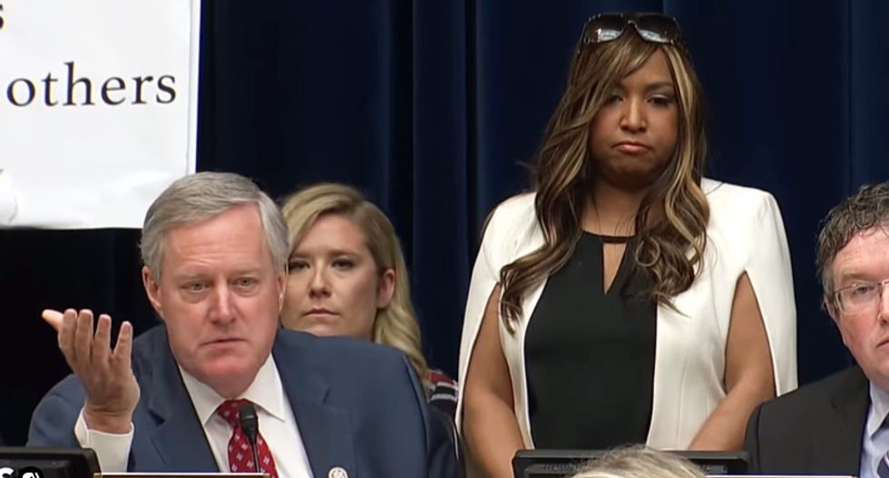 Conservative slams 'birther' Mark Meadows for using the 'I have black friends' excuse: 'Lame'