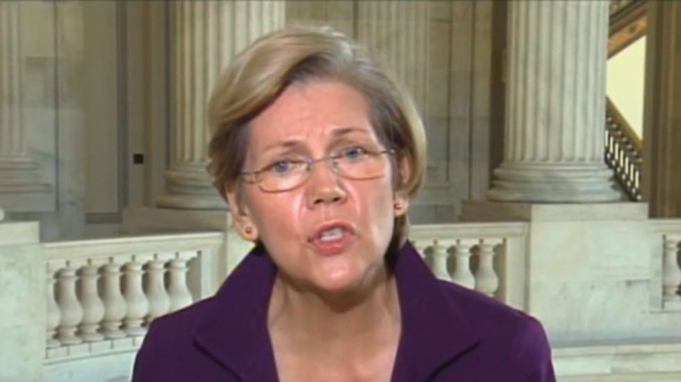 Elizabeth Warren destroys Bloomberg hosts on Social Security 'entitlements crisis'
