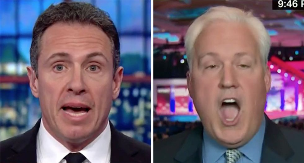 'Don't call him a liar!': Right-winger melts down after CNN's Cuomo confronts him with a multitude of Trump lies
