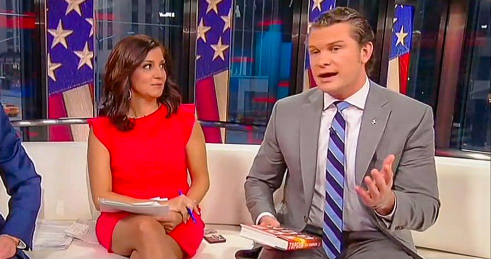 Fox News host Pete Hegseth: America 'lives free' because of 'toxic masculinity'