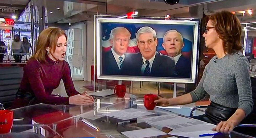 'That's no biggie?' Stephanie Ruhle burns down Trump conspiracy theorist for lying about Russia 'cover up'
