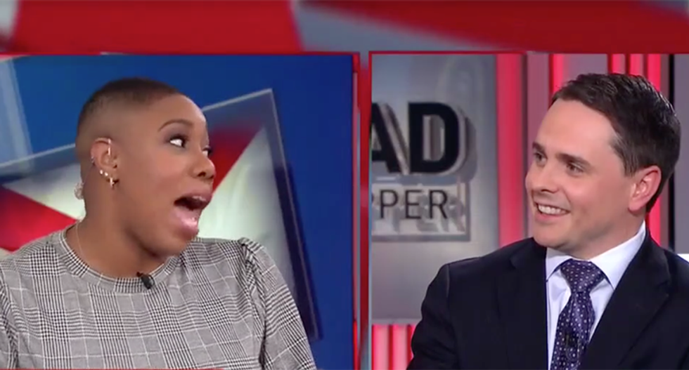 CNN panel bursts out laughing after GOP pundit dismisses sketchy Florida drilling deal: 'Don't hate the player, hate the game'