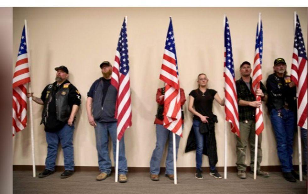 Defiant US sheriffs push gun sanctuaries, imitating liberals on immigration