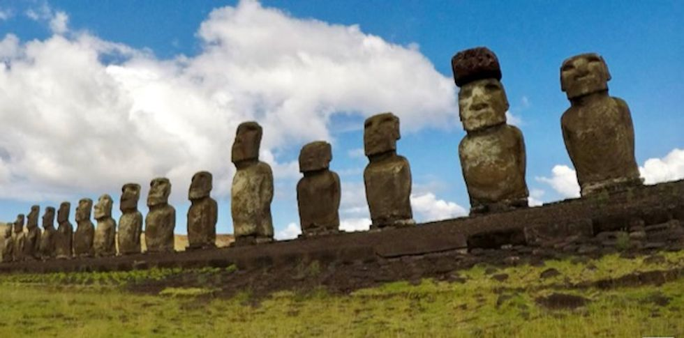 Easter Islanders seek outside help for iconic statues 'leprosy'
