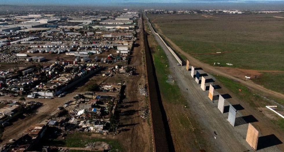 US demolishes Trump's border wall prototypes
