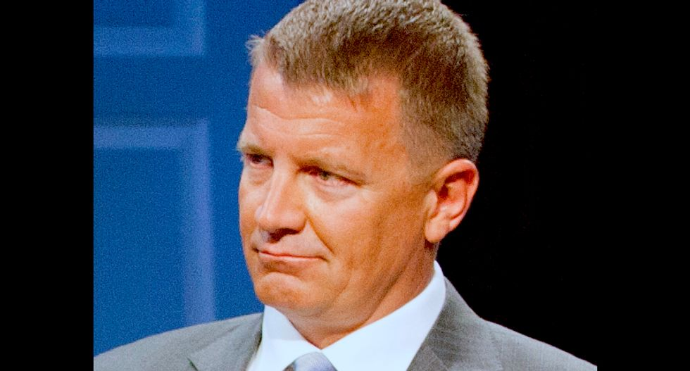 Blackwater founder Erik Prince details meeting with Russian in Seychelles