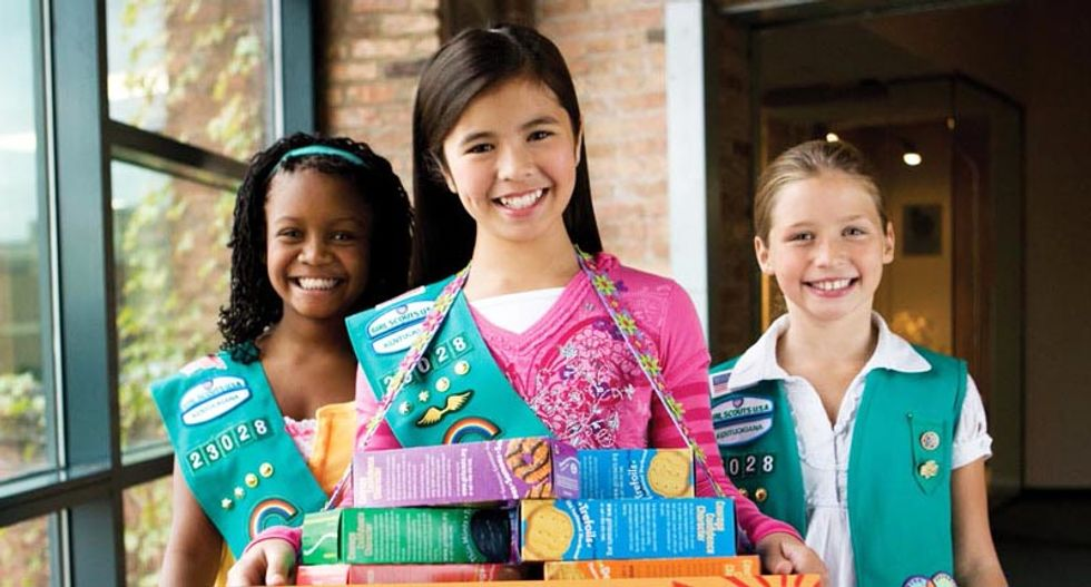 New Girl Scout badges focus on cyber crime, not cookie sales