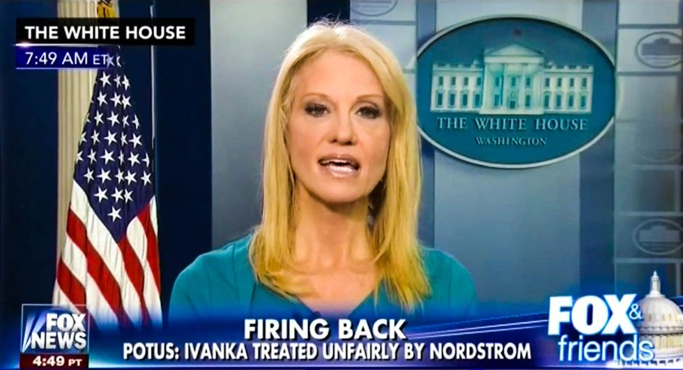 'Go buy Ivanka's stuff!': Kellyanne Conway gives president's daughter 'free commercial' on Fox