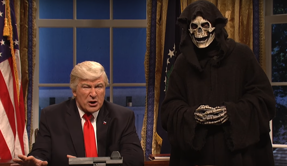 Trump furious at SNL sketch that portrayed Steve Bannon as the real president: report