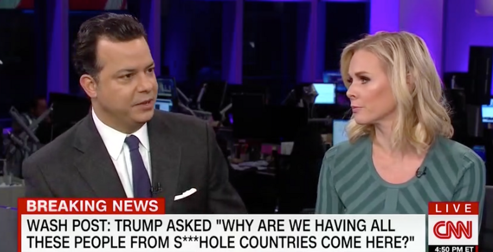 'This is straight up racist': CNN panel crushes Trump on 'sh*tholes' remark