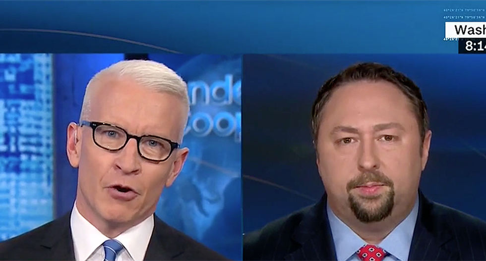 Watch: CNN's Anderson Cooper corners Jason Miller over Donald Trump's 'mind-blowing' and record-breaking rate of lies