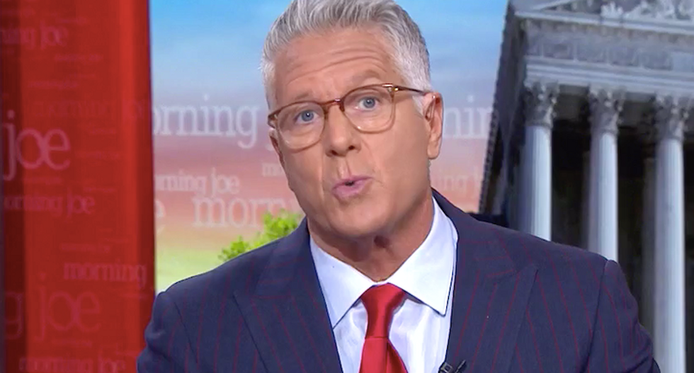 MSNBC's Donny Deutsch sets off firestorm with suggestion to rebrand Trump 'impeachment'