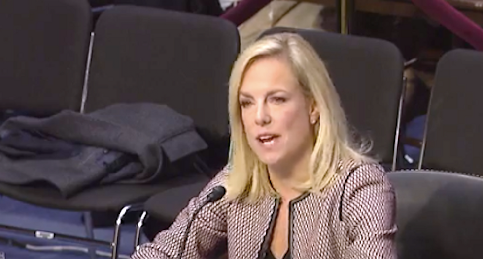 'Being from Norway is not a skill': Dem senator shuts down Homeland Security chief's lame defense of Trump 'sh*thole' remarks