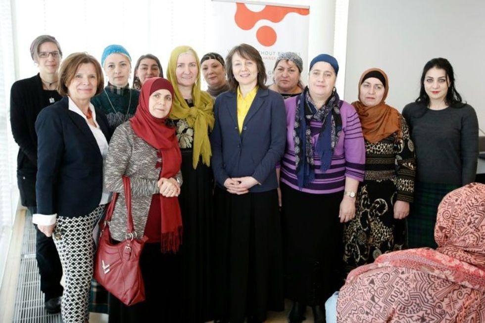 Muslim mothers fight 'toxic' merchants of terror