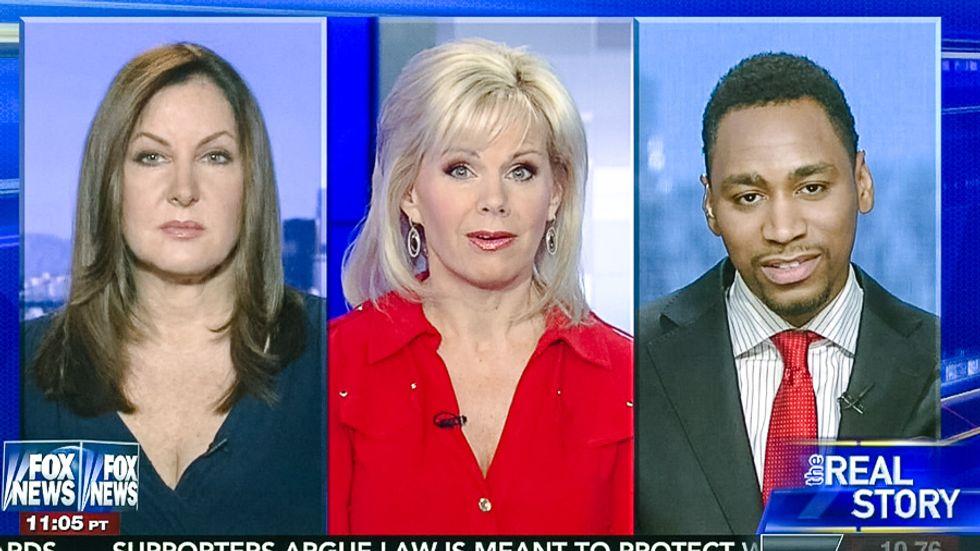 Fox News pundit: 'Donald Trump is not racist, he has black friends... he's in good shape'