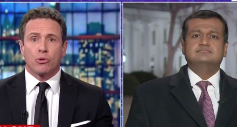 CNN's Chris Cuomo slaps down White House press aide: Focus on white supremacists if you're worried about terrorism