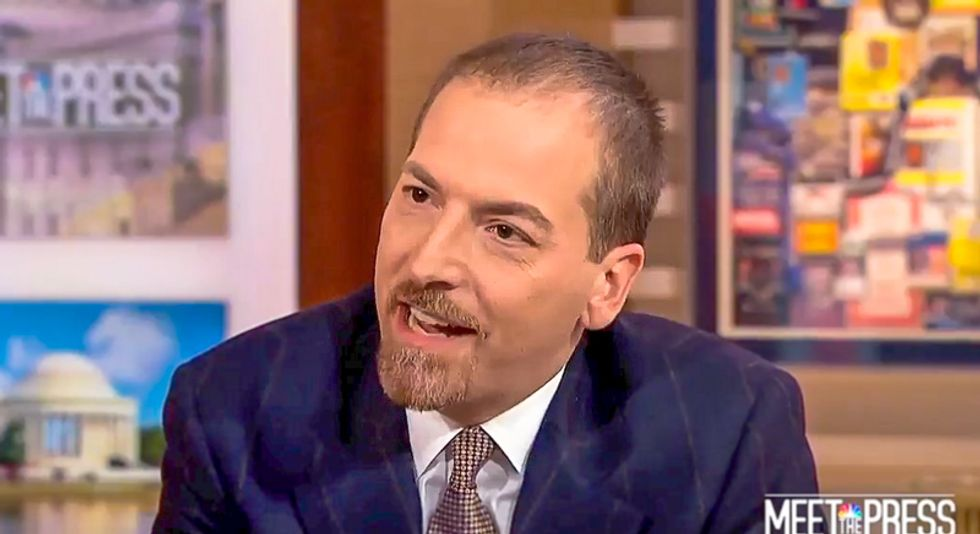 Chuck Todd busts Trump official for disowning racist ad: 'Donald J. Trump for President is an outside group?'