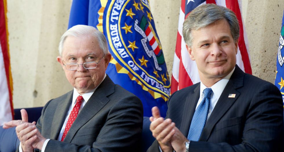 FBI director Chris Wray replaces Comey holdover with Trump loyalist amid pressure from AG Sessions to 'clean house'
