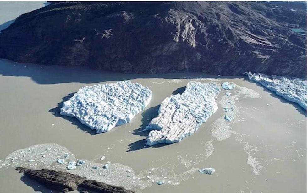 Fresh iceberg ruptures in Chile's Patagonia raise alarm