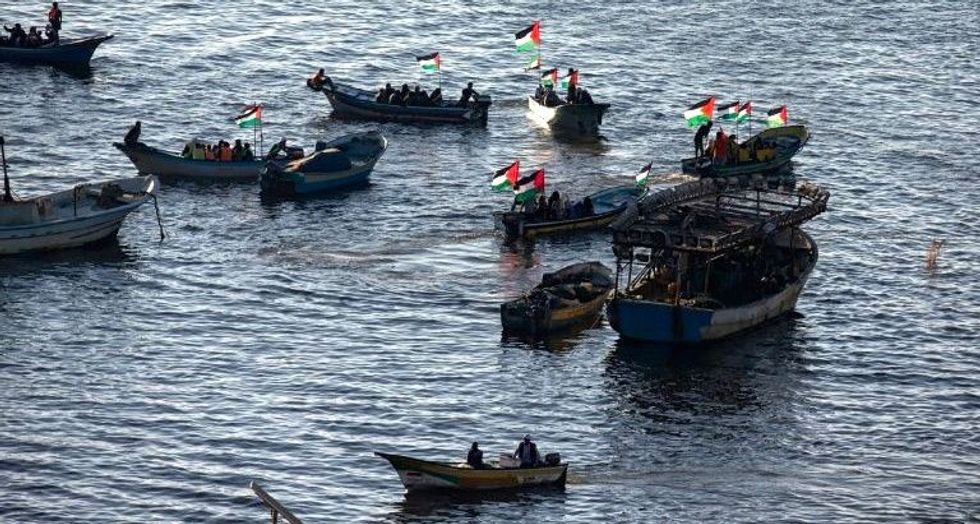 Women activists held for trying to break Gaza blockade