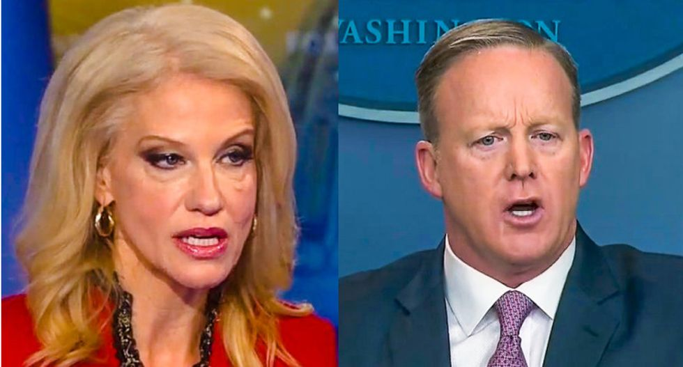 'It's a game to them': Sources close to White House say 'staffers do much of their lying for sport'