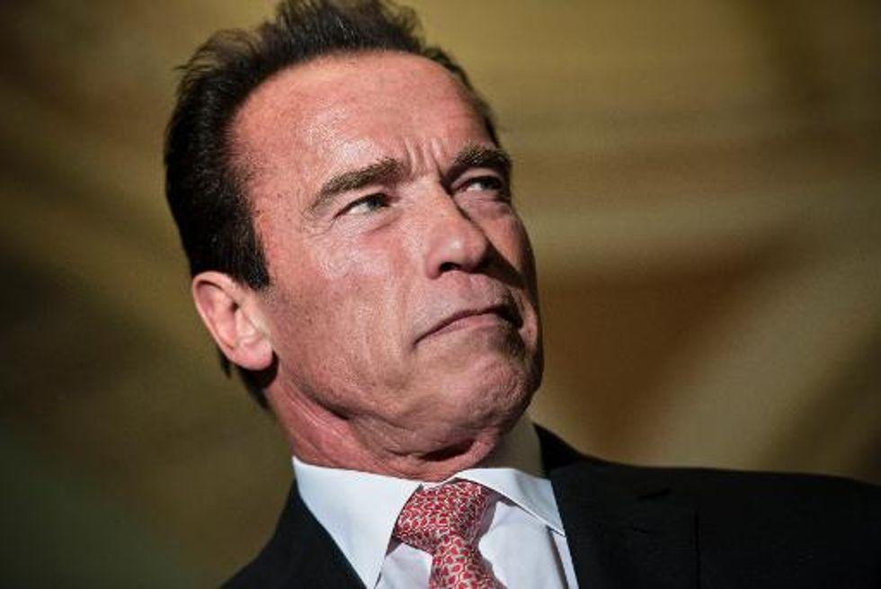 Arnold Schwarzenegger throws weight behind Ukraine protesters