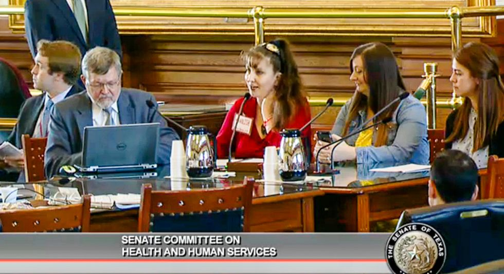 Texas Senate testimony: Lawmakers must have 'testicular fortitude' to abolish women's abortion rights