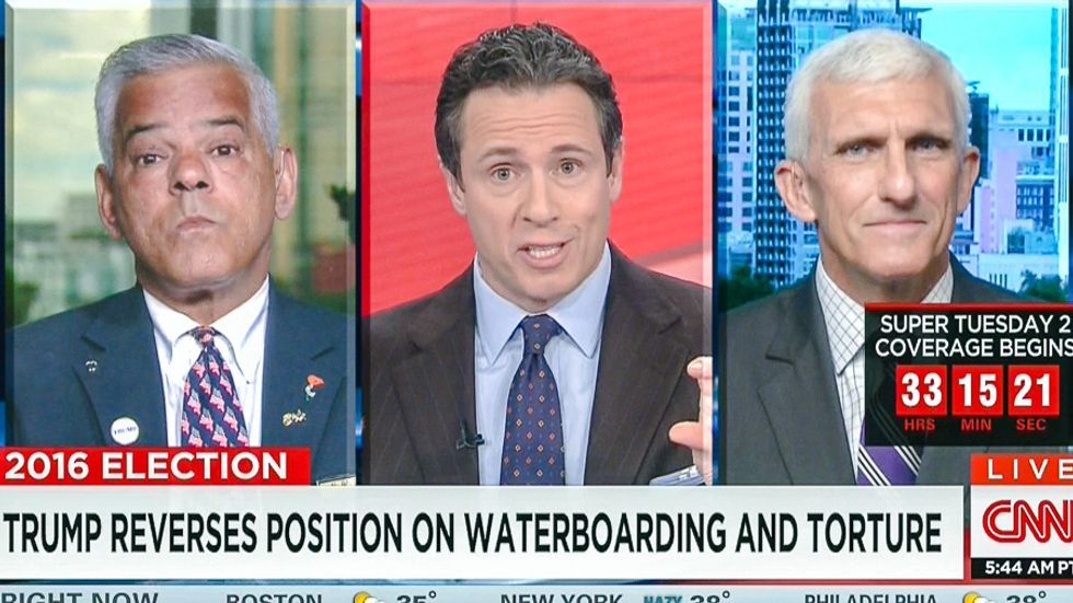 Three-star general on CNN destroys Trump over torture: 'The military is not his palace guards'