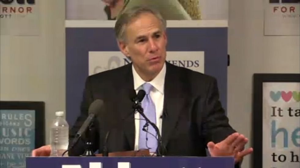Clayton 'rape victims should relax and enjoy it,' Williams is funding TX Gov GOP nominee Greg Abbott