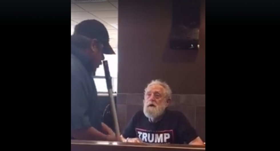 'Go back to Mexico': Trump supporter caught on tape berating Latino McDonald's employee