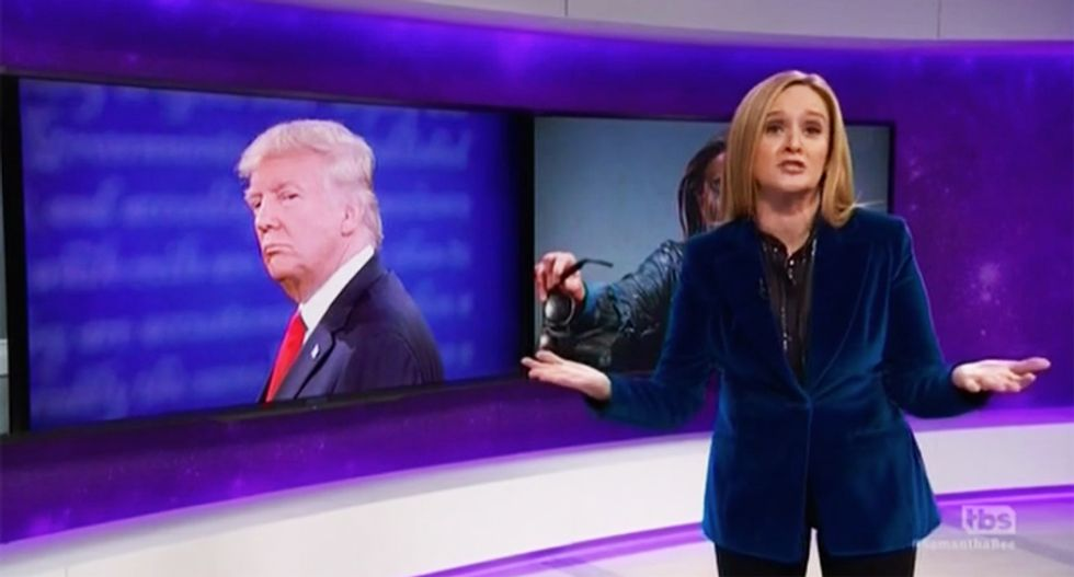 Sam Bee blisters anti-choice GOP quietly destroying Roe while we're 'blinded by the Trump sh*tgeyser