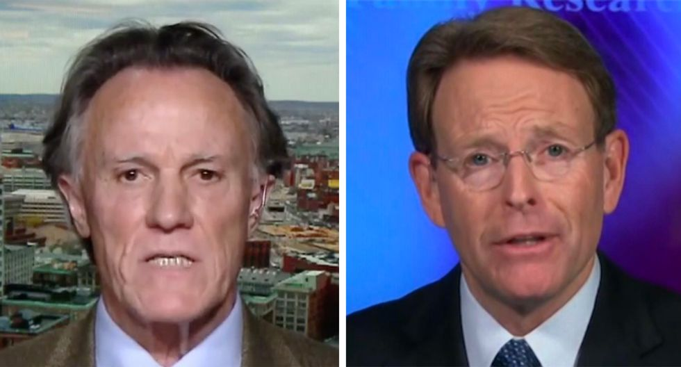 'This is American racism': Ex-evangelist righteously pounds Tony Perkins who wants to 'punch the bully' Obama