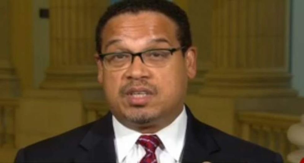 Keith Ellison blows up on CNN over travel ban: Justice Gorsuch is doing the bidding of 'his paymasters'