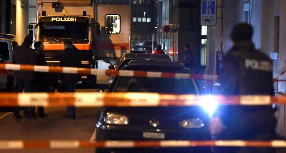 Three hurt in shooting at Muslim prayer hall in Zurich: reports