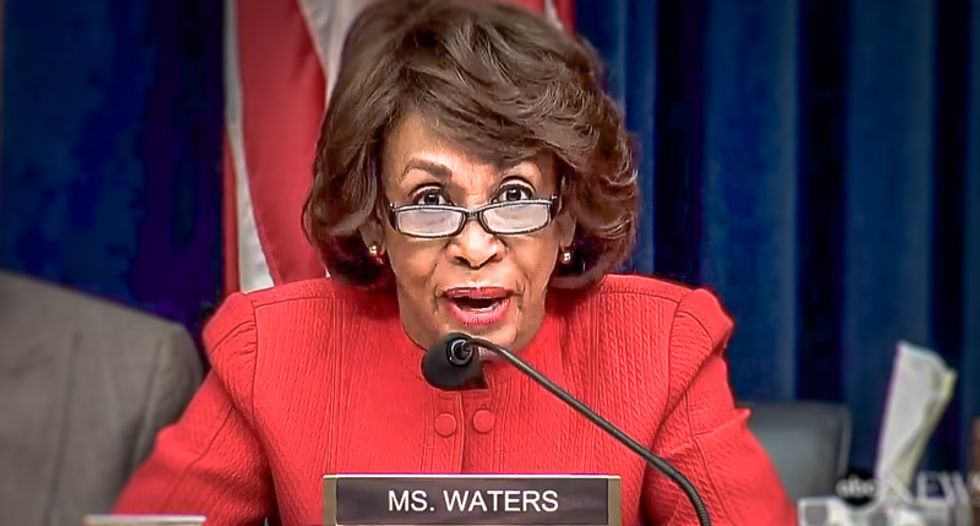 Congressional screening office intercepts suspicious package addressed to Rep. Maxine Waters