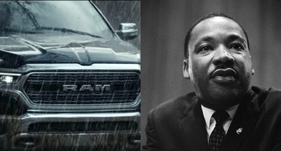 Internet lambastes 'tone deaf as hell' Dodge Ram ad that uses MLK's legacy to sell trucks
