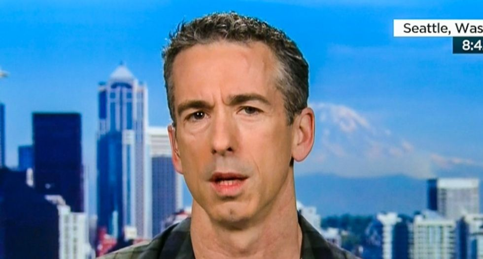 Dan Savage: Clinton crediting Nancy Reagan for helping AIDS victims is a 'f*cking lie'