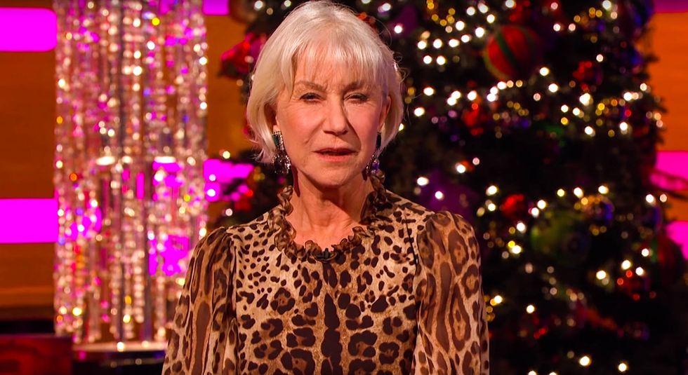 '2016 has been a big pile of sh*t': Helen Mirren's 'inspirational' Christmas message gets dark fast