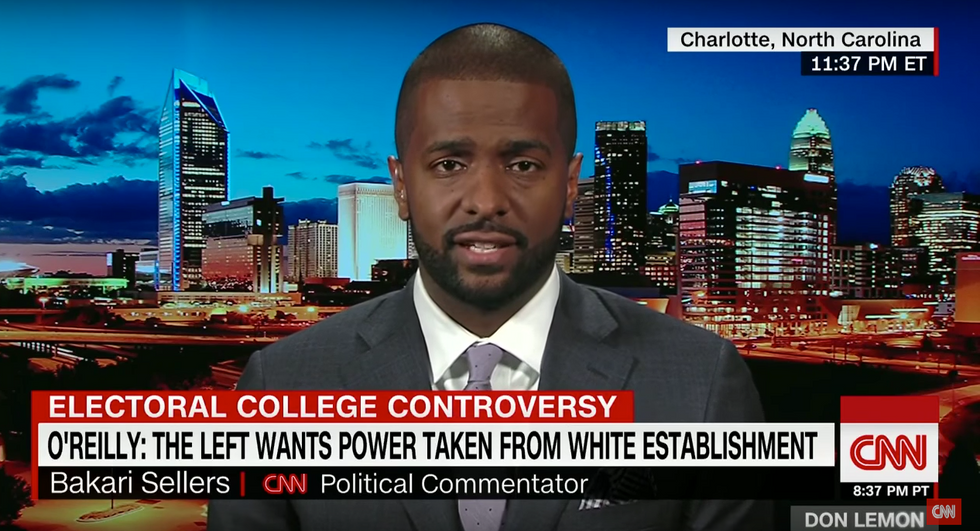 Civil rights lawyer Bakari Sellers shreds O'Reilly's racist rant for echoing South African apartheid