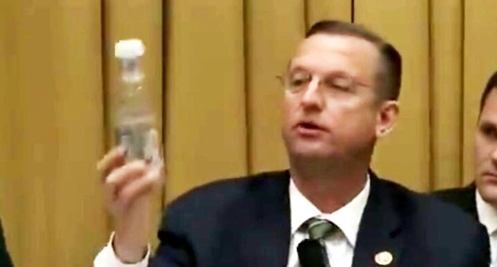 GOP congressman gets buried in mockery over his perplexing rant about water bottles and the Mueller report
