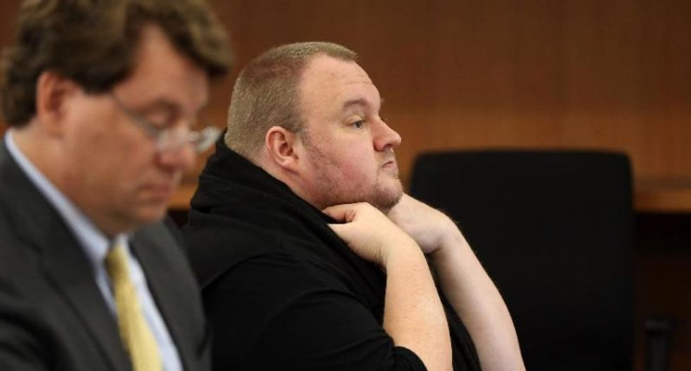 Megaupload founder Kim Dotcom appears in New Zealand court to fight US extradition