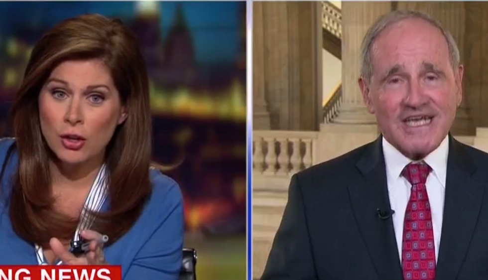 CNN's Erin Burnett slammed GOP senator for calling people 'naive' for opposing Trump