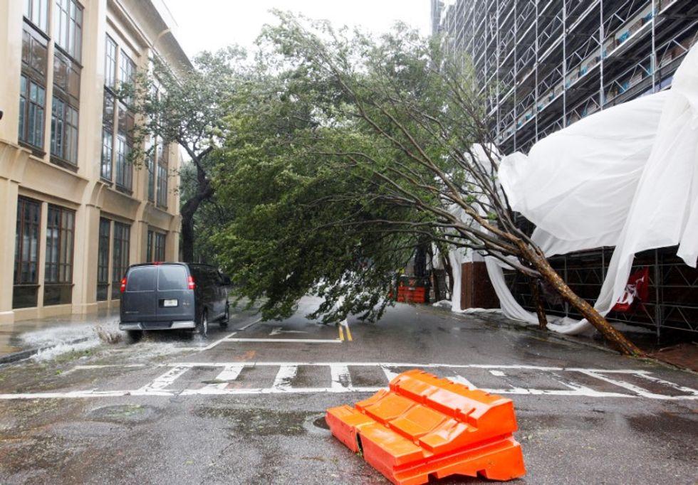 Weakened Hurricane Matthew kills at least nine as it buffets U.S. Southeast