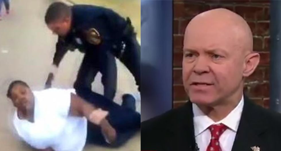 'I wanted to smack him myself': Ex-NYPD detective unloads on Texas cop who arrested Jacqueline Craig